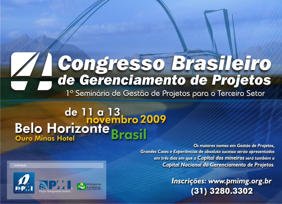IV Congresso Brasileiro de Gerenciamento de Projetos